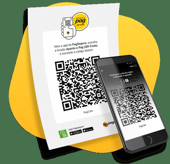 Utilize o QR Code como forma de pagamento